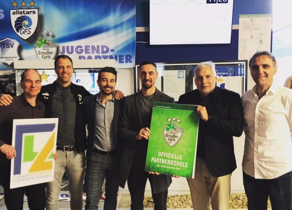 FußballLehrZentrum Fränkische Schweiz am GFS eröffnet