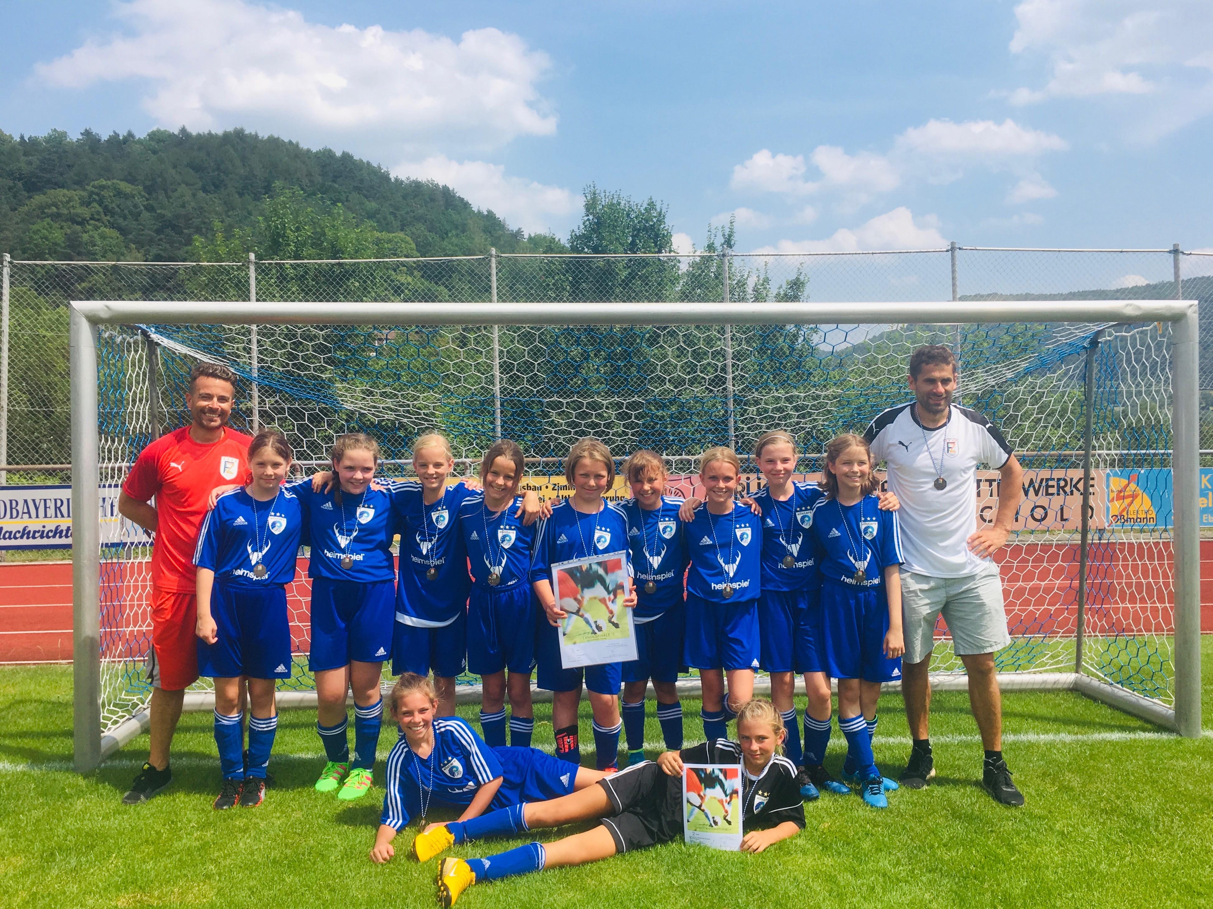 Mädchen IV holen dritten Platz bei Bayerischen Schulmeisterschaften